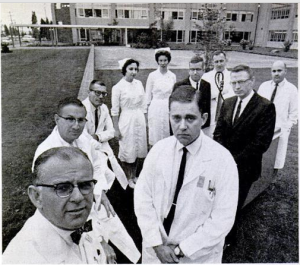 Key members of Seattle Scribner Shunt team, circa 1960s