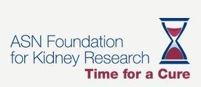 ASN Foundation for Kidney Research logo
